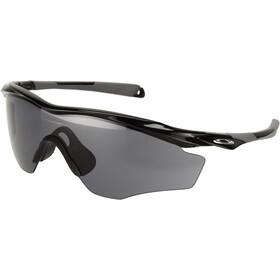 Oakley M2 Frame XL Solbriller, polished black/grey